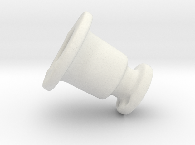 Hold Down Rv Dn 394-C in White Natural Versatile Plastic