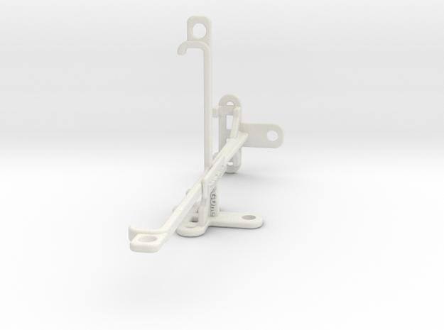 LG G7 One tripod & stabilizer mount in White Natural Versatile Plastic