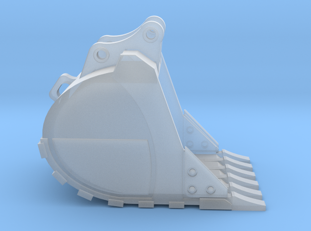 "1:50 48"" HD Bucket for 20 Ton excavator models.  in Smooth Fine Detail Plastic"
