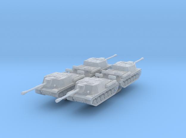 SU 122 x4 scale: 1:285 in Smooth Fine Detail Plastic