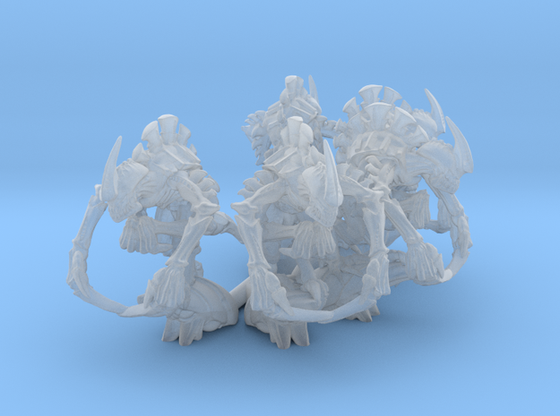Broodmaster 5 models in Smoothest Fine Detail Plastic