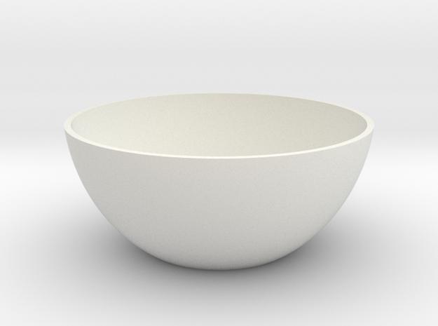 Minimalist Vase in White Natural Versatile Plastic