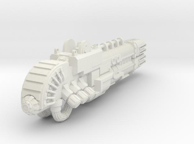 StarMalice Plasma Cannon for Imperial Knight in White Natural Versatile Plastic