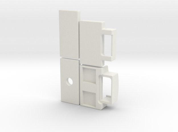 magnetic body mount in White Natural Versatile Plastic