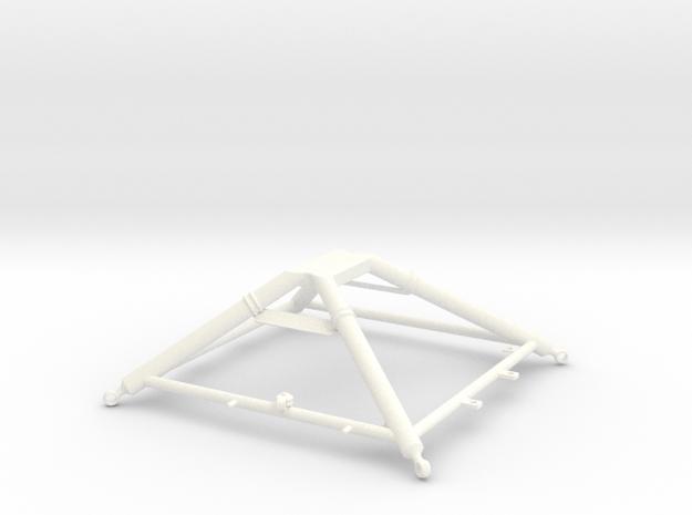 1.6 LAMA CARGO HOOK in White Processed Versatile Plastic