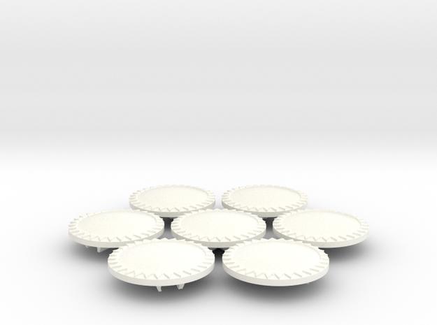 ETHAN 15 in White Processed Versatile Plastic