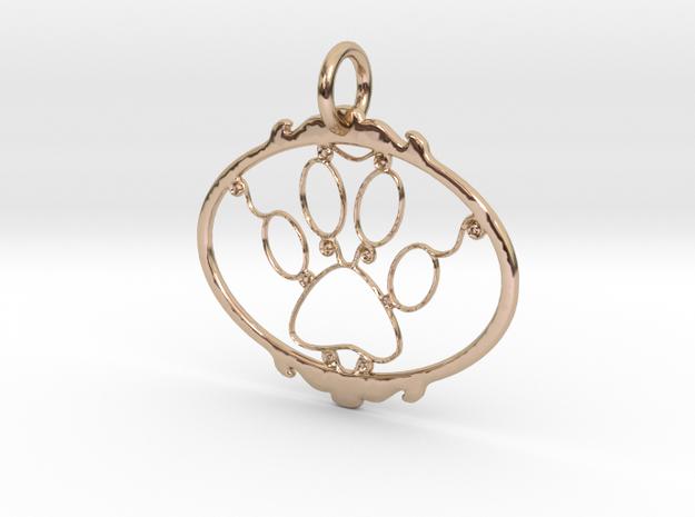 Paw Print pendant