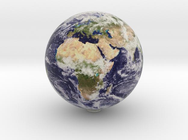Earth 1:80 million in Natural Full Color Sandstone