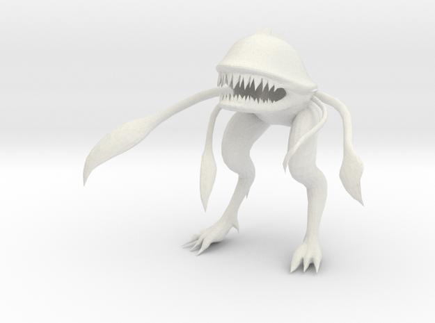 Wild Alien 2  in White Natural Versatile Plastic