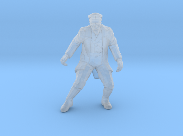 Nazi Zombie - Waffen General in Smooth Fine Detail Plastic: 15mm