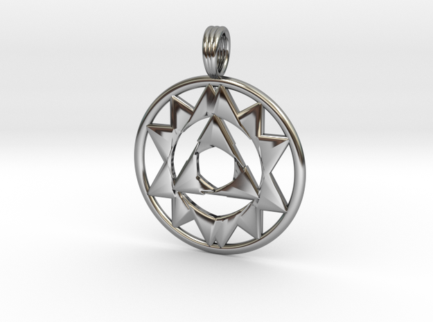 TRIOCULUS in Antique Silver
