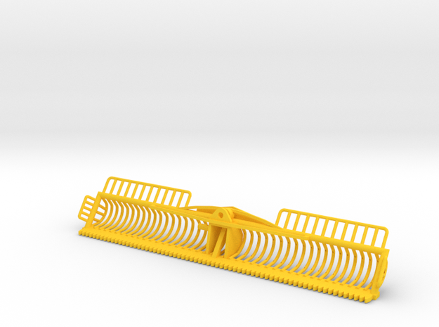 4 Meter Maaikorf in Yellow Processed Versatile Plastic