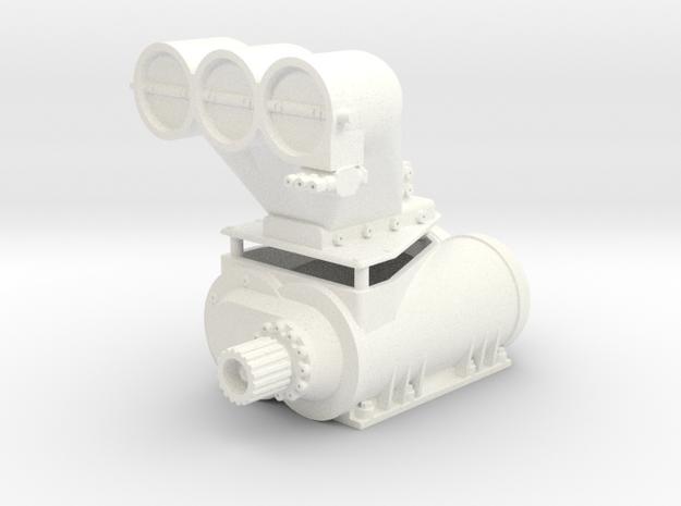 PSI_Blower 1/10 in White Processed Versatile Plastic