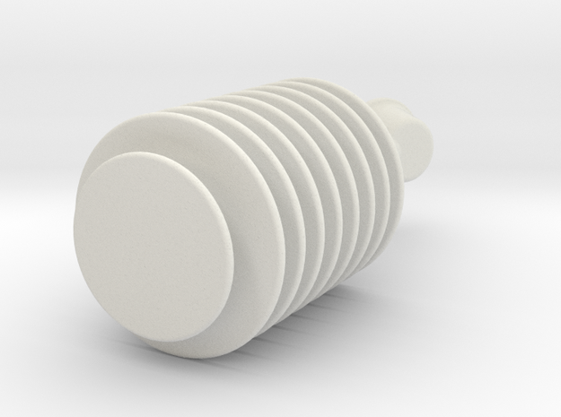 Star Trek TOS Original Series Styled Earpiece in White Natural Versatile Plastic