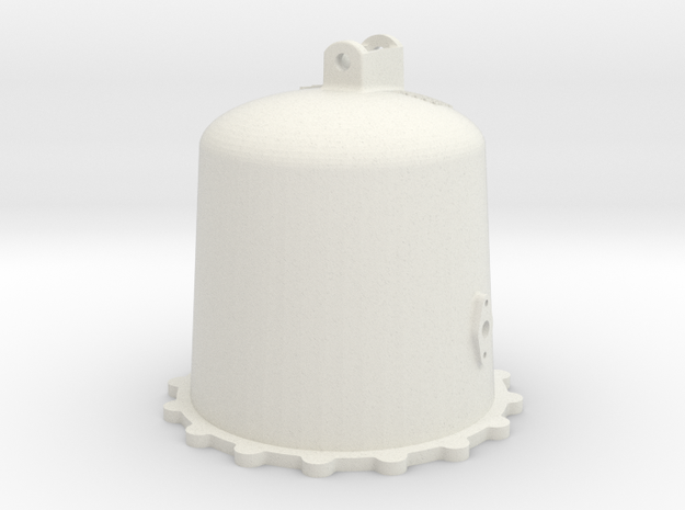 "1.5"" scale Air Reservoir A in White Natural Versatile Plastic"