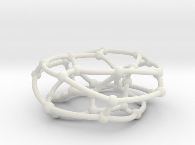 F38A graph on torus in White Natural Versatile Plastic