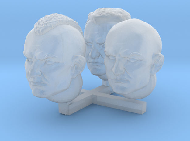 Brothers of Battle head assortment in Smoothest Fine Detail Plastic