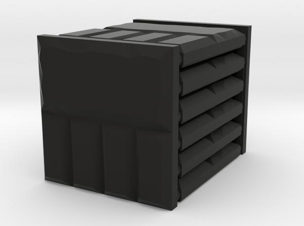 3 x 3 Brick Edging Set in Black Natural Versatile Plastic
