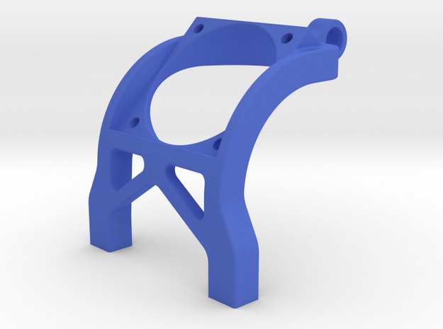 B6 B6.1 T6.1 SC6.1 Fan Mount 30mm Team Associated in Blue Processed Versatile Plastic