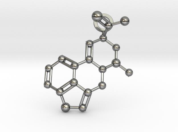 LSA molecule (medium) in Polished Silver