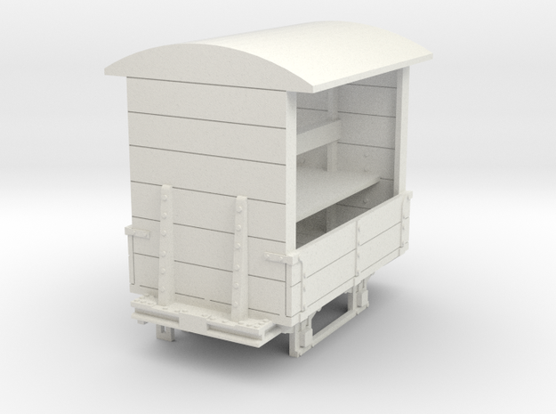 a-32-gr-turner-covered-wagon in White Natural Versatile Plastic