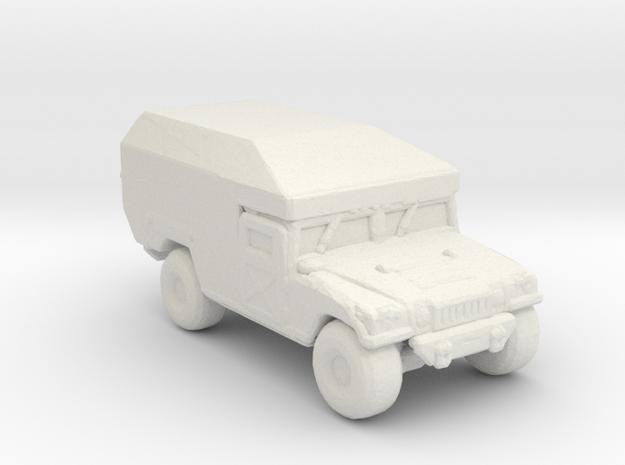 M997 Ambulance 285 scale in White Natural Versatile Plastic