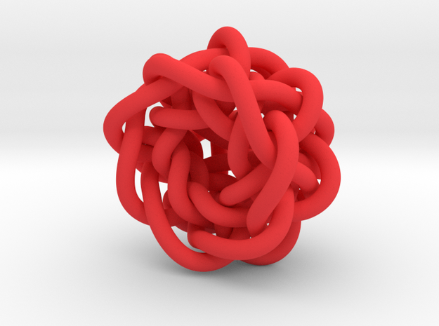 B&G Knot 20 in Red Processed Versatile Plastic