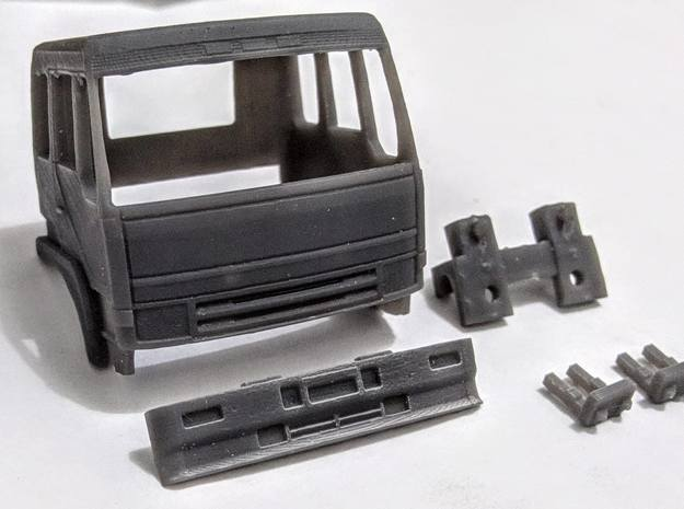 1/87 Mitsubishi Fuso The Great Cabin in Smooth Fine Detail Plastic