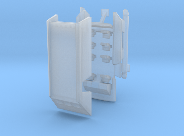 1/350 TOS Shuttlecraft with Open Door and Interior in Smooth Fine Detail Plastic