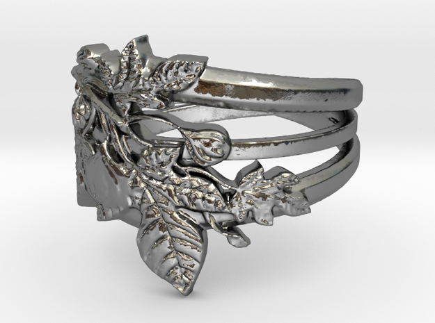 Figuier Triple anneau Ring Size 9 in Polished Silver: 6.5 / 52.75