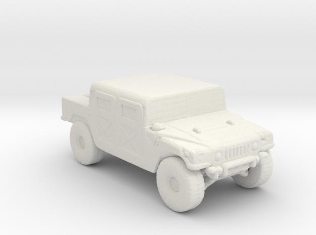 M998A1 285 scale in White Natural Versatile Plastic