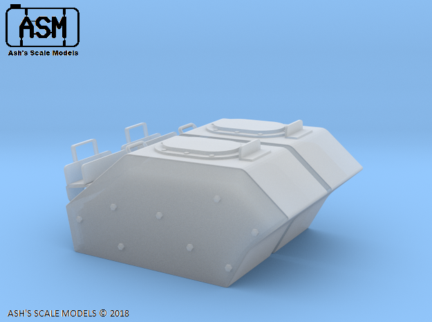 1/35 AUSTRALIAN ARMY M113AS4 EXTERNAL TANKS in Smooth Fine Detail Plastic