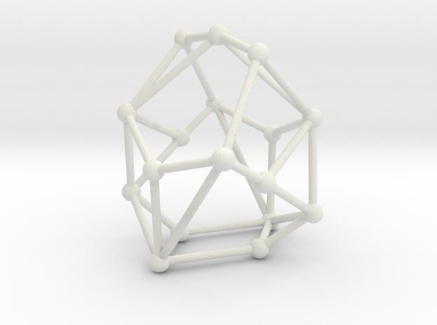 Ghent-17 AP-graph in White Natural Versatile Plastic