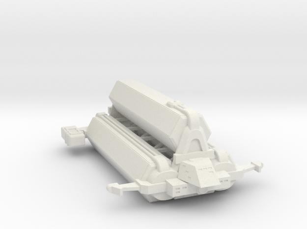 Omni Scale Kzinti Jumbo Freighter (Class-III) SRZ in White Natural Versatile Plastic