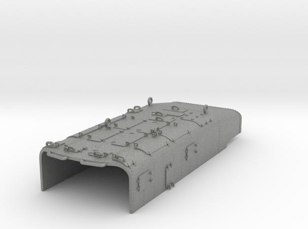 1/100 DKM Torpedo tubes Armour Protection