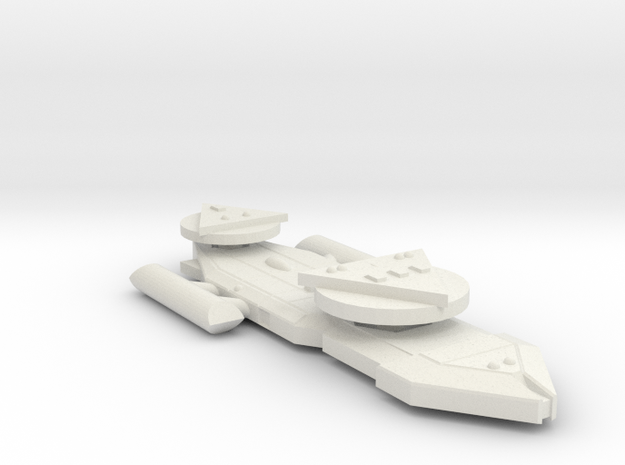 3788 Scale Worb Heavy Destroyer MGL in White Natural Versatile Plastic
