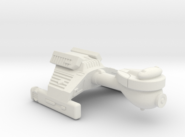 3125 Scale Klingon G2 Police Cutter WEM in White Natural Versatile Plastic