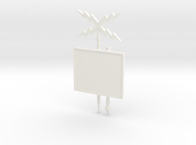 ETHAN 32 in White Processed Versatile Plastic