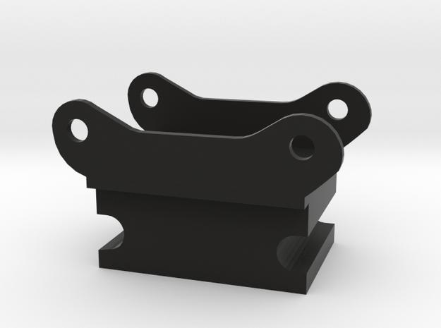 Adapter steelwrist S60 naar shop snelwissel in Black Natural Versatile Plastic