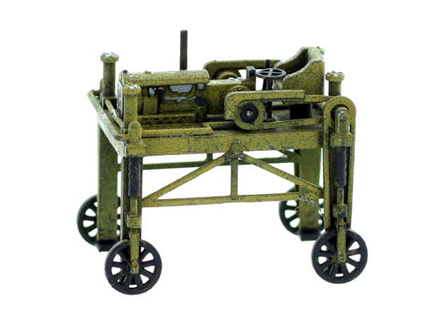 Lumber Straddle Carrier O Scale Model in Smooth Fine Detail Plastic