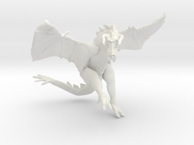 Omni Scale Space Dragon Ancient Male MGL in White Natural Versatile Plastic