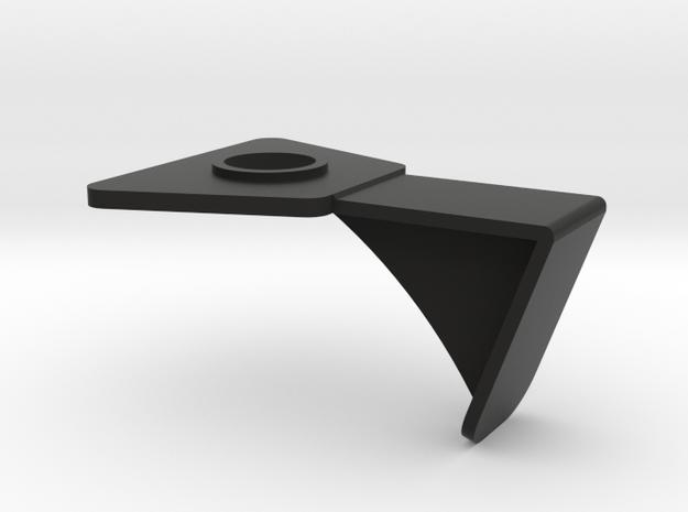 Magnetic Cellphone Mount Bracket in Black Natural Versatile Plastic