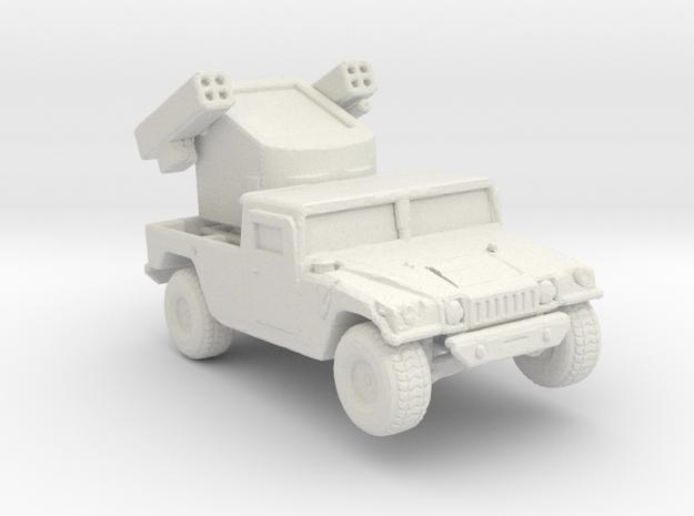 M1097a1 Avenger 220 scale in White Natural Versatile Plastic