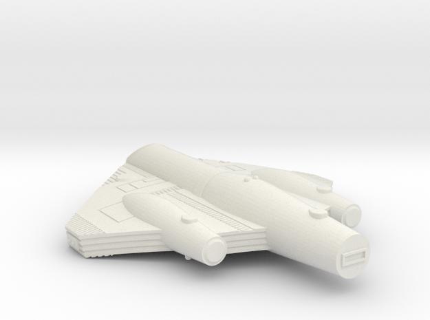 3788 Scale ISC Light Cruiser (CL) SRZ in White Natural Versatile Plastic