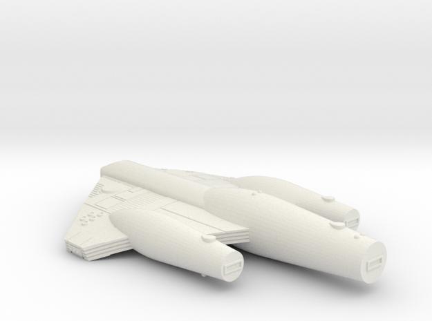 3788 Scale ISC Star Cruiser (CA) SRZ in White Natural Versatile Plastic