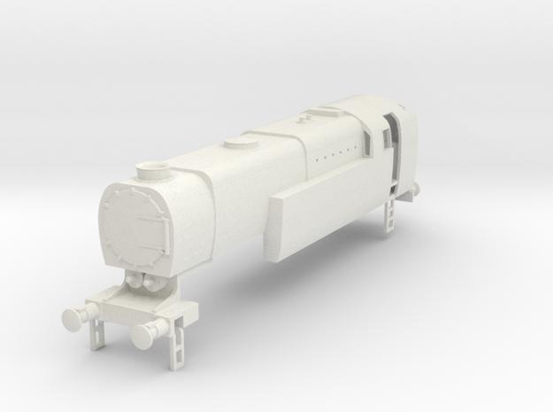 b-76-q1-loco-2-6-2T in White Natural Versatile Plastic