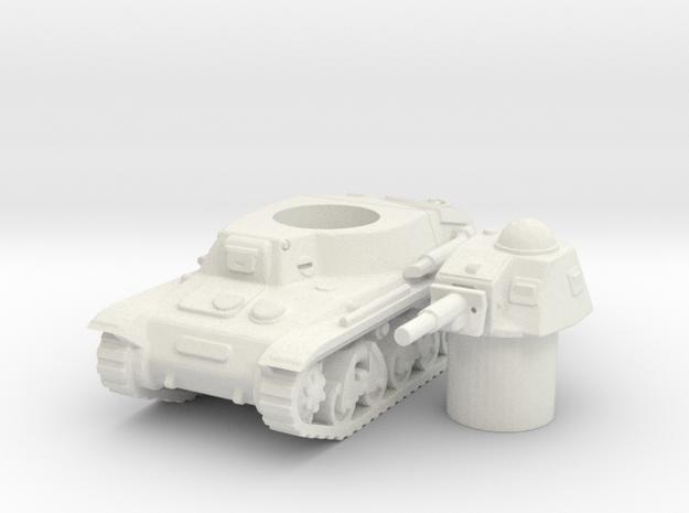 H 35 tank scale 1/100 in White Natural Versatile Plastic