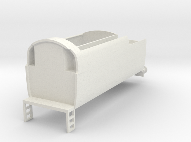 b-76-q1-loco-long-tender in White Natural Versatile Plastic