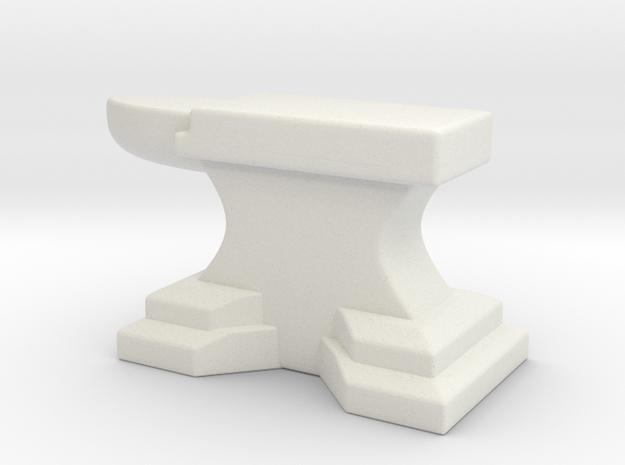Anvil A in White Natural Versatile Plastic