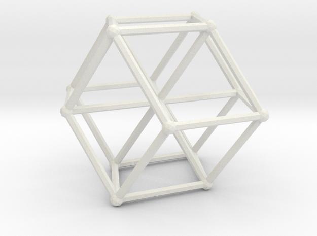 Robertson's apex graph in White Natural Versatile Plastic